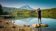 Photographing Mount Fuji video