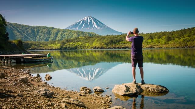 Photographing Mount Fuji video
