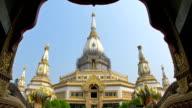 Phra Maha Chedi Chai Mongkol, Roi Et Thailand video