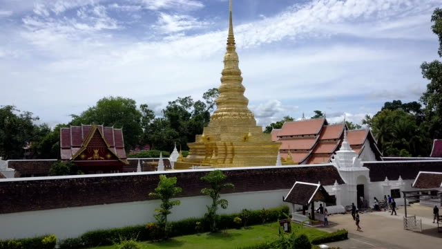 Phra That Chae Haeng, Nan province, Thailand. video