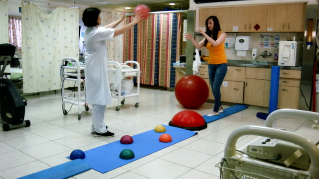 Physiotherapy after fracture of the leg video