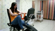 Physiotherapy in hospital video