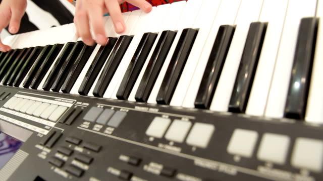 Piano key video