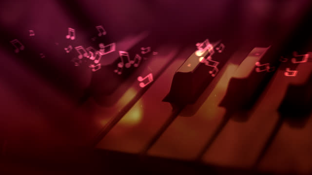 Piano Music Background video
