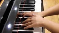 Piano player (HD) video