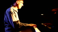 Piano player. video