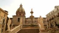 Piazza Pretoria or Piazza della Vergogna video