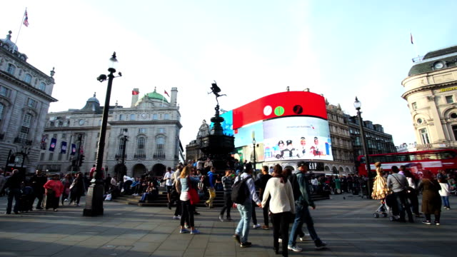 Piccadilly Circus Oxford & Regent street, London, England video