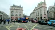 piccadilly circus smartphone picture video