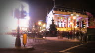 Piccadilly Circus timelapse HD video