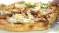 Pick Up Slice Of Pizza video