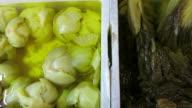 Pickled vegetables video