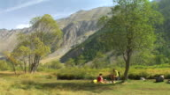 HD: Picnic In Nature video