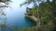 Pictured Rocks National Lakeshore, Michigan video