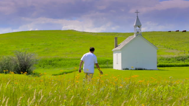 Picturesque Rural Church video