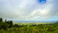 Picturesque view of North coast of Sao Miguel island, Azores, Portugal video