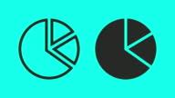 Pie Chart - Vector Animate video