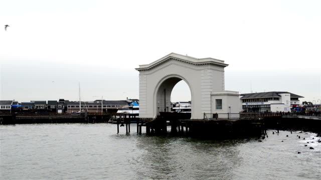 Pier 43 Ferry Arch video