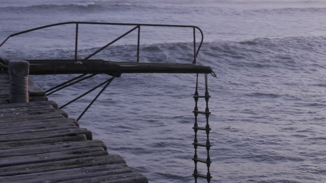 pier stairs video