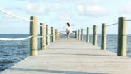 Pier Woman video