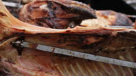 Piglets in spit roasts - Lechones Asados en Espiedo video