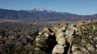 Pikes Peak Palmer Park red rocks Colorado Springs video