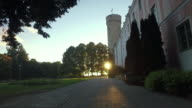 Pikk Hermann tower next to the Estonian Parliament building video