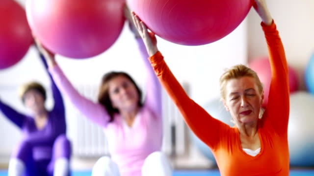 Pilates workout. video