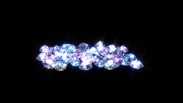 Pile of Diamonds video