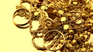 Pile of Gold Jewelry video