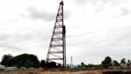 Pile Rig video