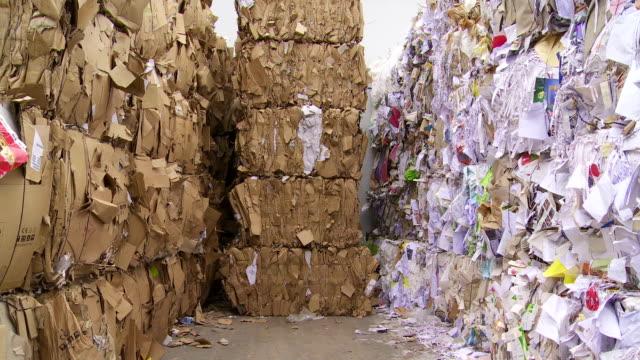 PAN Piles Of Paper Waste video