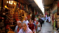 Pilgrims in Old City Jerusalem video
