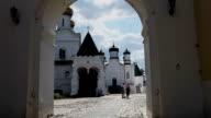 Pilgrims in the Ipatiev Monastery video