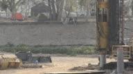 piling drill Machine video