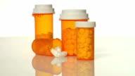 Pill bottles video