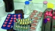 Pill medicine. video