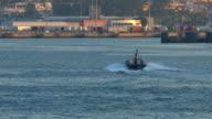 Pilot Boat Underway In Port video