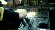 Pilot pushing power handle video