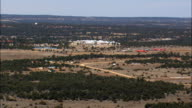 Pinehill  - Aerial View - New Mexico,  Cibola County,  United States video