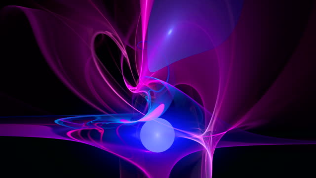 Pink blue pattern abstract motion background video