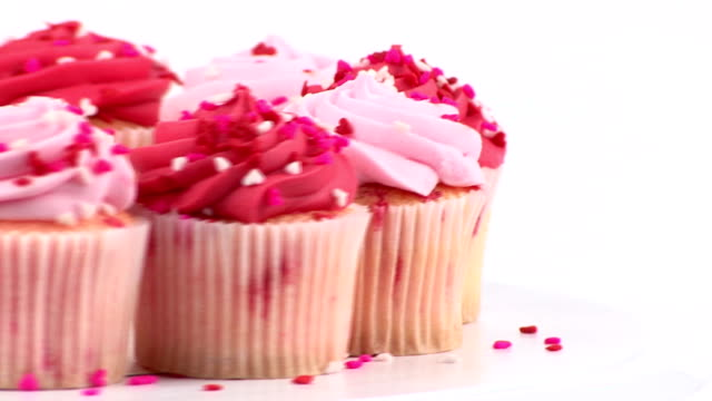 Pink cupcakes video