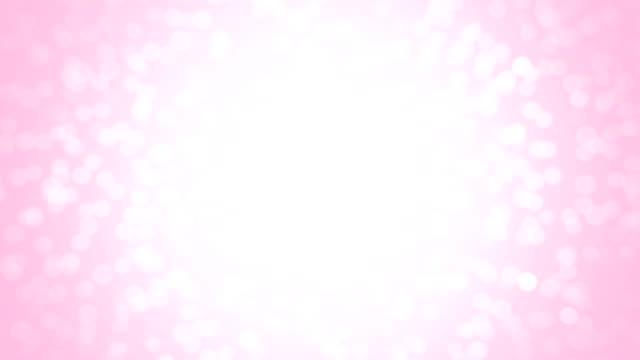 Pink glitter background - seamless loop video