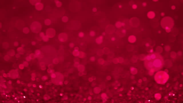 Pink Glittering Particles Abstract Background video