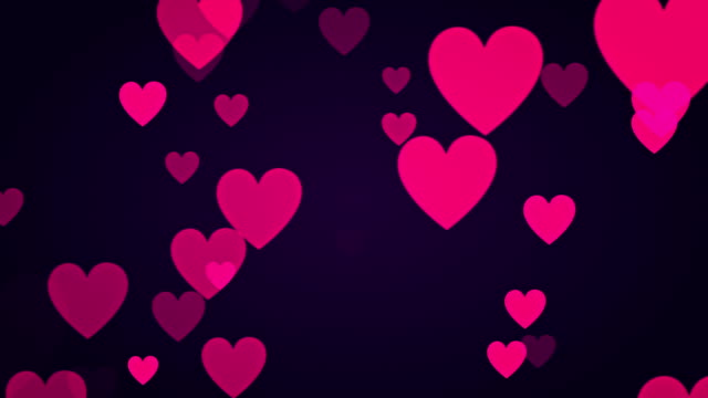 Pink Heart Background (Loopable) video
