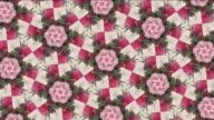 pink kaleidoscope background video