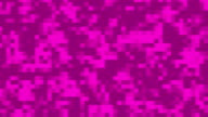 Pink Pixels Background Loop video