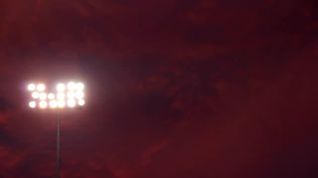 Pink Sky Stadium Lights video