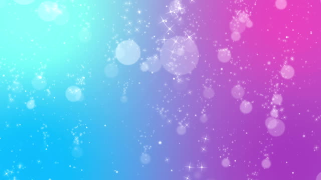 Pink Stars Shimmer Particle Background video