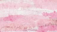 Pink torn paper loop - Romance background video